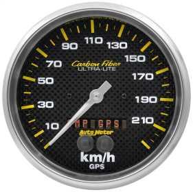 Carbon Fiber™ In-Dash Electric Speedometer 4881-M