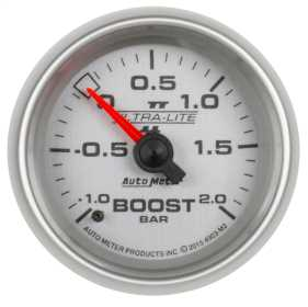 Ultra-Lite II® Mechanical Boost/Vacuum Gauge