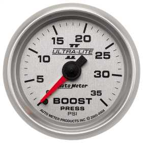 Ultra-Lite II® Mechanical Boost Gauge