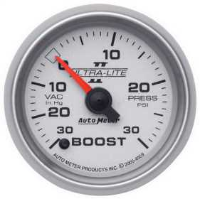 Ultra-Lite II® Electric Boost/Vacuum Gauge