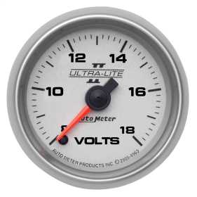 Ultra-Lite II® Electric Voltmeter Gauge