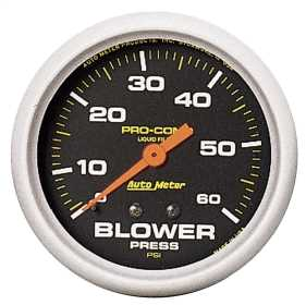 Pro-Comp™ Liquid-Filled Mechanical Blower Pressure Gauge