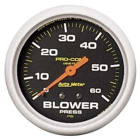 Pro-Comp™ Liquid-Filled Mechanical Blower Pressure Gauge 5403
