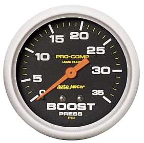 Pro-Comp™ Liquid-Filled Mechanical Boost Gauge