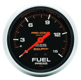 Pro-Comp™ Liquid-Filled Mechanical Fuel Pressure Gauge 5413