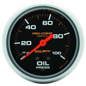 Pro-Comp™ Liquid-Filled Mechanical Oil Pressure Gauge