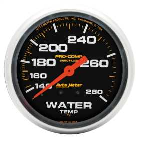 Pro-Comp™ Liquid-Filled Mechanical Water Temperature Gauge
