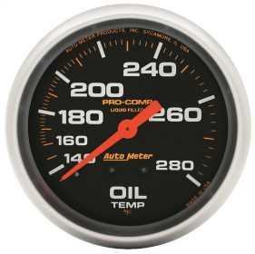 Pro-Comp™ Liquid-Filled Mechanical Oil Temperature Gauge