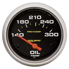 Pro-Comp™ Electric Oil Temperature Gauge