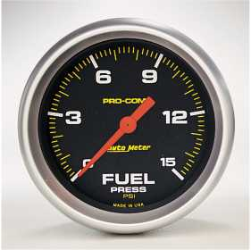 Pro-Comp™ Electric Fuel Pressure Gauge