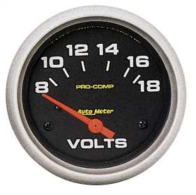 Pro-Comp™ Electric Voltmeter Gauge