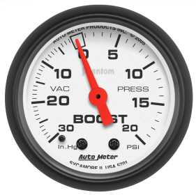 Phantom® Mechanical Boost/Vacuum Gauge