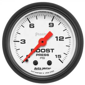 Phantom® Mechanical Boost Gauge