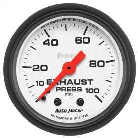 Phantom® Mechanical Exhaust Pressure Gauge 5726