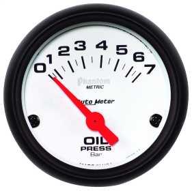 Phantom® Electric Metric Oil Pressure Gauge