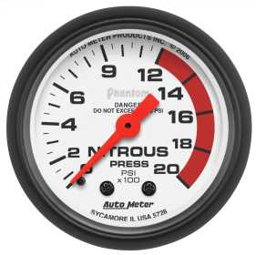 Phantom® Mechanical Nitrous Pressure Gauge