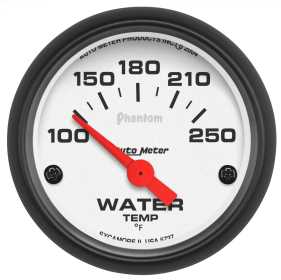 Phantom® Electric Water Temperature Gauge