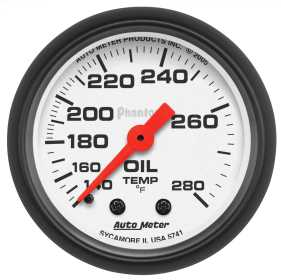 Phantom® Mechanical Oil Temperature Gauge