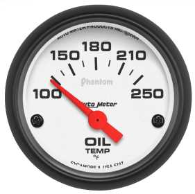 Phantom® Electric Oil Temperature Gauge