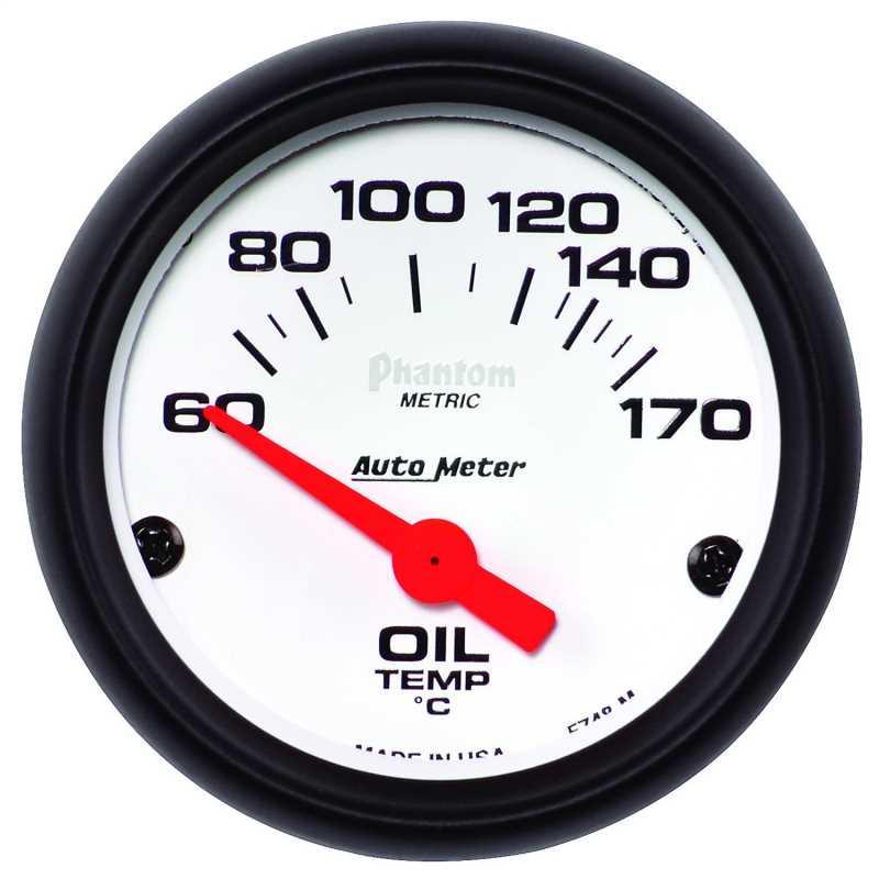 Phantom® Electric Oil Temperature Gauge 5748-M