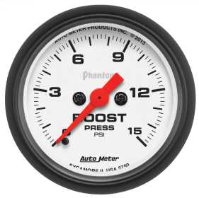 Phantom® Electric Boost Gauge