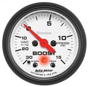 Phantom® Electric Boost/Vacuum Gauge