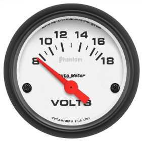 Phantom® Electric Voltmeter Gauge