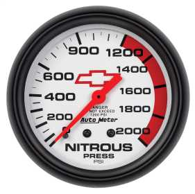 GM Series Mechanical Nitrous Pressure Gauge