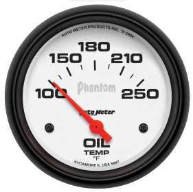 Phantom® Electric Oil Temperature Gauge 5847