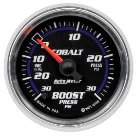 Cobalt™ Electric Boost/Vacuum Gauge