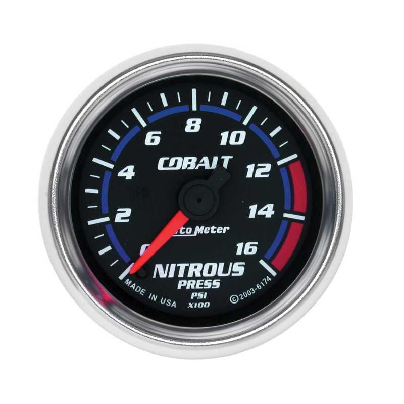 Cobalt™ Electric Nitrous Pressure Gauge 6174