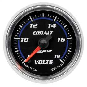 Cobalt™ Electric Voltmeter Gauge