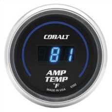 Audio Amplifier Temperature Gauge