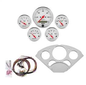 Artic White™ 5 Gauge Set MPH/OilP/Water/Volt/Fuel