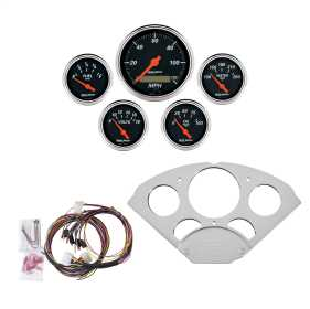 Designer Black™ 5 Gauge Set MPH/OilP/Water/Volt/Fuel