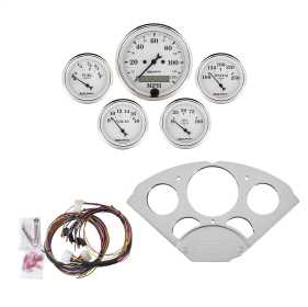 Old Tyme White™ 5 Gauge Set MPH/OilP/Water/Volt/Fuel
