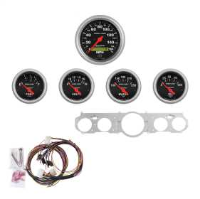 Sport-Comp™ 5 Gauge Set MPH/OilP/Water/Volt/Fuel