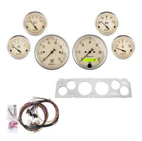 Antique Beige™ 6 Gauge Set RPM/MPH/OilP/Water/Volt/Fuel