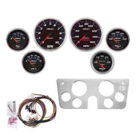 Cobalt™ 6 Gauge Set RPM/MPH/OilP/Water/Volt/Fuel
