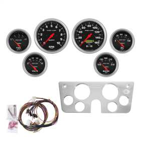 Sport-Comp™ 6 Gauge Set RPM/MPH/OilP/Water/Volt/Fuel