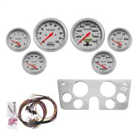 Ultra-Lite™ 6 Gauge Set RPM/MPH/OilP/Water/Volt/Fuel