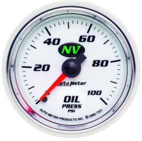 NV™ Mechanical Oil Pressure Gauge