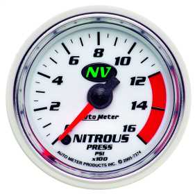 NV™ Electric Nitrous Pressure Gauge