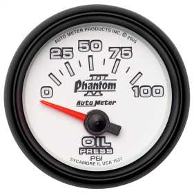 Phantom II® Electric Oil Pressure Gauge