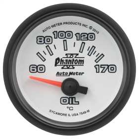 Phantom II® Electric Oil Temperature Gauge