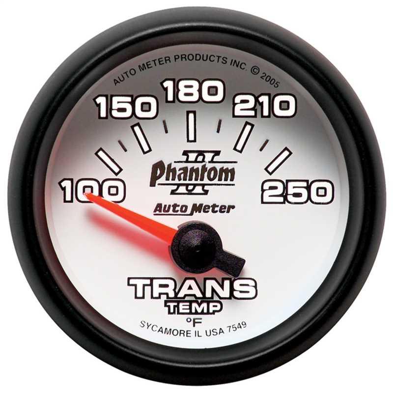 Phantom II® Electric Transmission Temperature Gauge 7549
