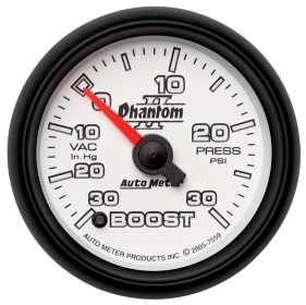 Phantom II® Electric Boost/Vacuum Gauge