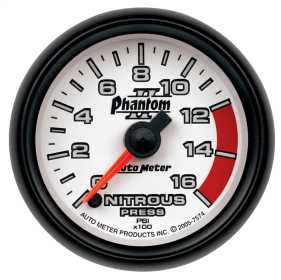 Phantom II® Electric Nitrous Pressure Gauge