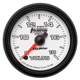 Phantom II® Electric Voltmeter Gauge