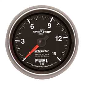 Sport-Comp II™ Mechanical Fuel Pressure Gauge